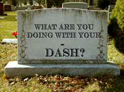 What Are You Doing With Your Dash?